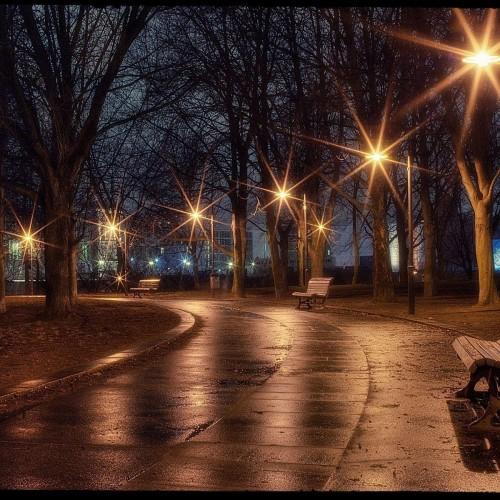 Вечерний парк
